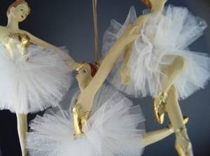 Bilde av Ballerina m/gulldetaljer