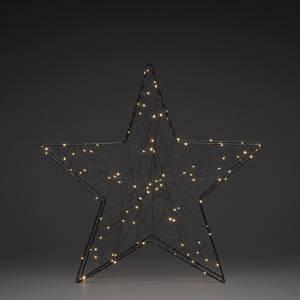 Bilde av Metallstjerne sort 60 cm /100